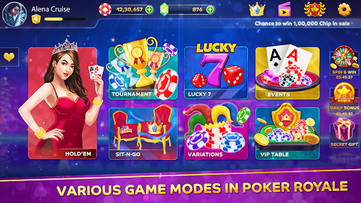 Poker Royale - Texas Holdem Poker 0.1.2 7
