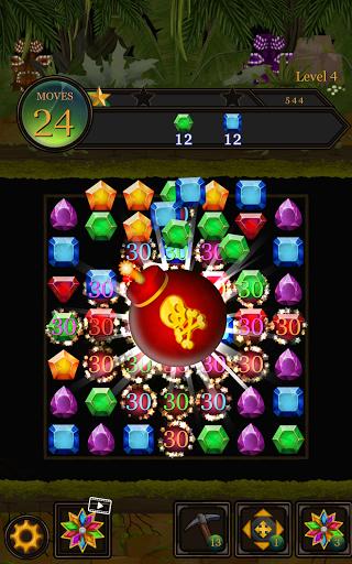 Secret Jungle Pop : Match 3 Jewels Puzzle Apkfinish screenshots 11