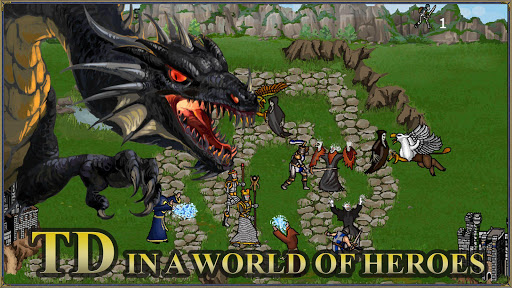 Heroes 3 and Mighty Magic: Medieval Tower Defense screenshots 1