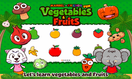 marbel fun vegetable and fruits screenshot 2