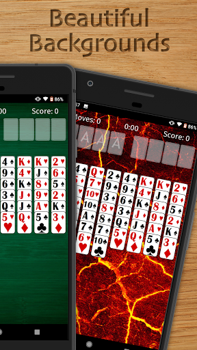FreeCell Solitaire Free - Classic Card Game  screenshots 2