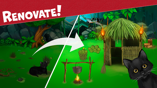 Island Puzzle: story basiertes game. Match offline  screenshots 3