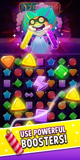 Match Masters - Jeu de puzzle JcP Match 3 APK MOD – Monnaie Illimitées (Astuce) screenshots hack proof 2