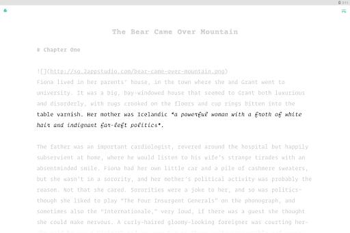 JotterPad - Writer, Screenplay, Novel 12.11.0D-pi Screenshots 9