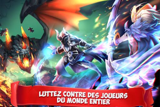 Code Triche Epic Summoners: Bataille de Héros- RPG d'Action APK MOD (Astuce) screenshots 1