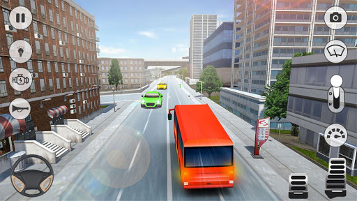 City Coach Bus Simulator 2021 - PvP Free Bus Games  screenshots 1
