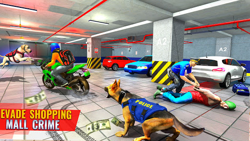 US Police Dog Shopping Mall Crime Chase 2021 apkdebit screenshots 3