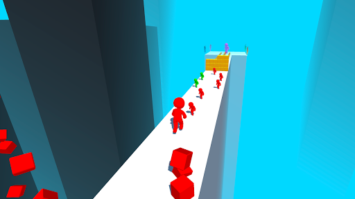 Color Run Stickman 3D apkpoly screenshots 6