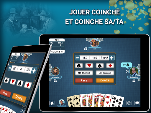 Blot - Belote Coinche Multiplayer 2.4.0 screenshots 12