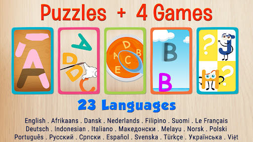 Alphabet game for kids - learn alphabets  screenshots 1