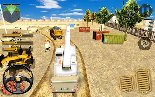 Utility construction machines 1.3.0 screenshots 1