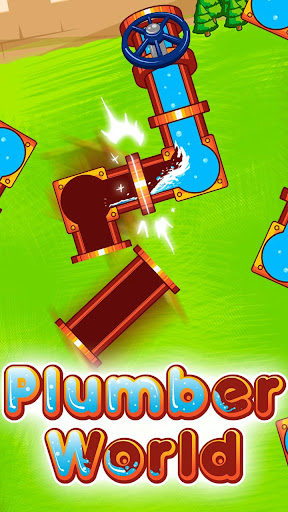 Plumber World : connect pipes (Play for free) screenshots 8