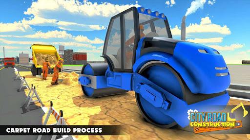 Mega City Road Construction Machine Operator Game 3.9 screenshots 14