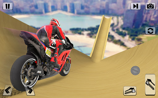 Bike Impossible Tracks Race: 3D Motorcycle Stunts  Screenshots 10
