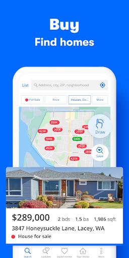 Zillow: Find Houses for Sale & Apartments for Rent 11.11.974.10826 Screenshots 1