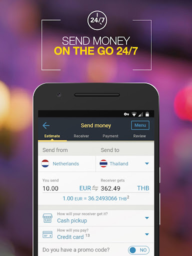 Western Union NL - Send Money Transfers Quickly - 2.4 Screenshots 2
