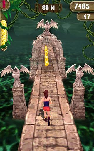 Scary Temple Princess Runner Games 2021  screenshots 1