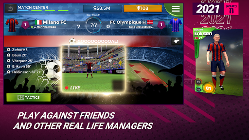 Pro 11 - Football Management Game  screenshots 3