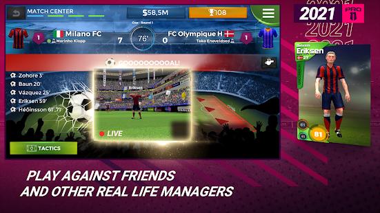 Pro 11 - Football Management Game 1.0.82 Screenshots 3