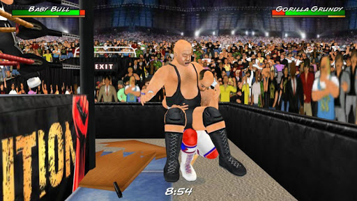 Wrestling Revolution 3D screenshots 8