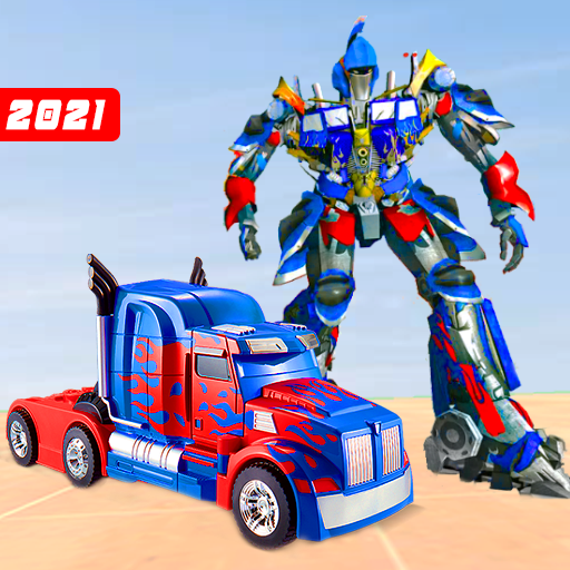 Truck Robot Transform Game