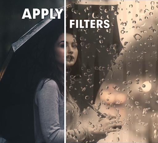 Rain Effect Video Maker and live wallpaper 0.41 screenshots 2
