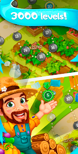 Funny Farm match 3 Puzzle game! 3