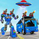 Bus Robot Car Transform War– Spaceship Robot game