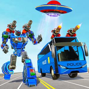 Bus Robot Car Transform War Spaceship Robot game