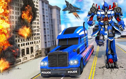 Indian Police Robot Transform Truck screenshots 3