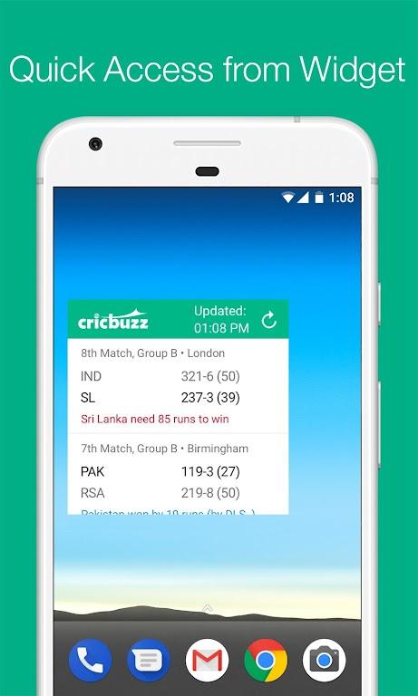 Cricbuzz - Live Cricket Scores & News  poster 4