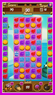 Jelly Сandy Match 3 Free Game