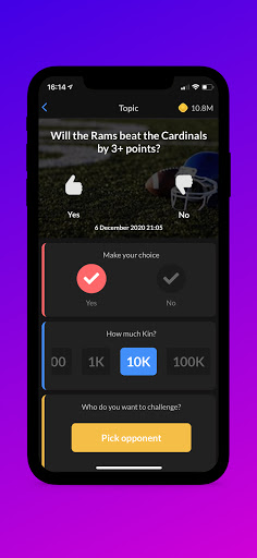 PeerBet - Sports prediction game 8.0.3 screenshots 2