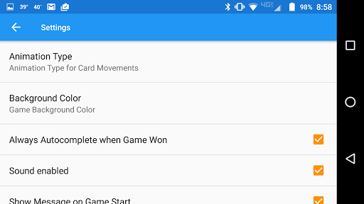FreeCell with Leaderboards  screenshots 7