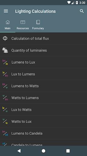 Lighting Calculations 4.5.1 screenshots 1