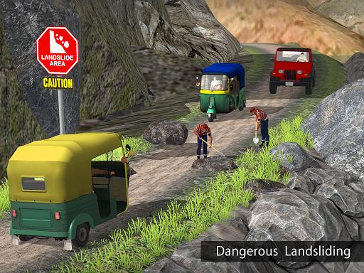 Tuk Tuk Auto Rickshaw Offroad Driving Games 2020 android2mod screenshots 16