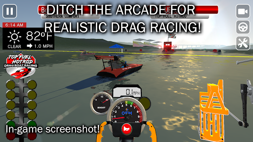 Top Fuel Hot Rod - Drag Boat Speed Racing Game 1.12 screenshots 5