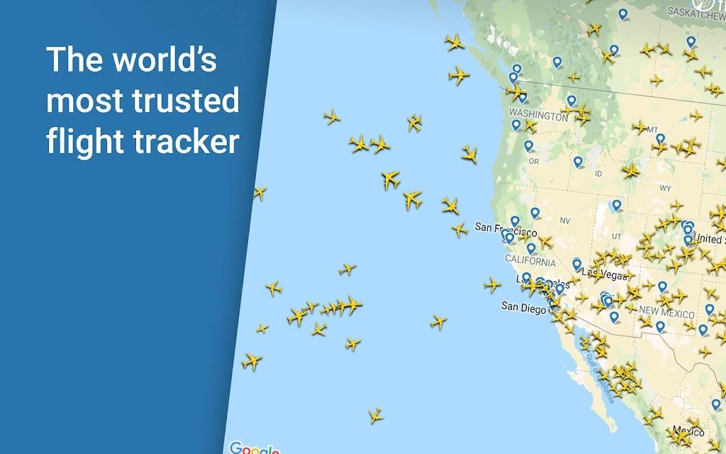 Flightradar24 Flight Tracker poster 7