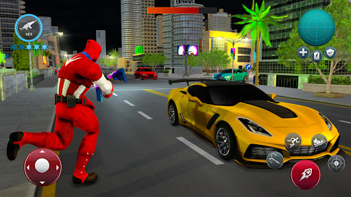 Miami Robot Spider Hero: City Gangster Games 2021 screenshots 11