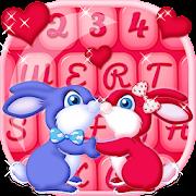 Stylish Keyboard Cute Couple  Icon