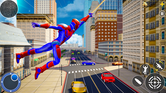 Rope Hero Man: Spider Miami City Gangster