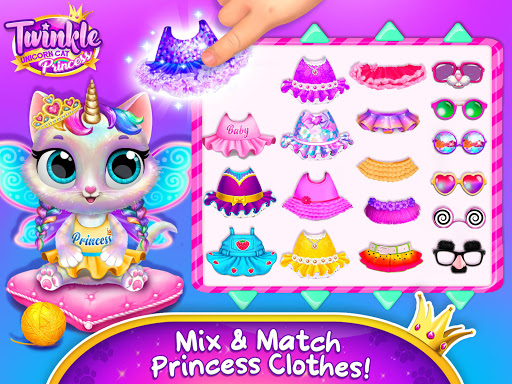 Twinkle - Unicorn Cat Princess 4.0.30010 screenshots 10