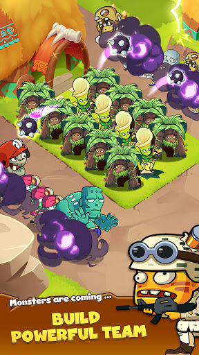 Zombie Defense - Plants War - Merge idle games 0.0.9 screenshots 6