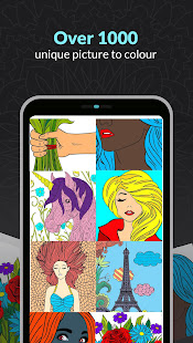 ColorArt: Masterpiece Coloring Page for Grown-Ups