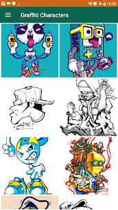 Easy Graffiti Characters  For Pc | Download And Install (Windows 7, 8, 10, Mac) 2