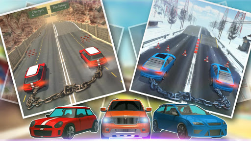 Chained Car Racing Games 3D 3.0 screenshots 9