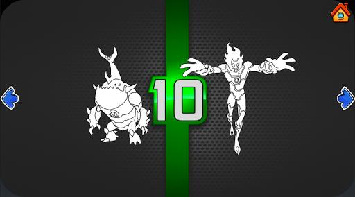 Ben Coloring 10 Ultimate Heros 1.07 Screenshots 5