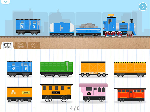 Labo Brick Train Build Game 4 Kids, Toodlers, Baby 1.7.346 Screenshots 14