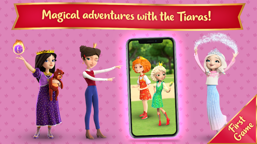 Little Tiaras: Magical Tales! Good Games for Girls 1.1.1 Screenshots 1