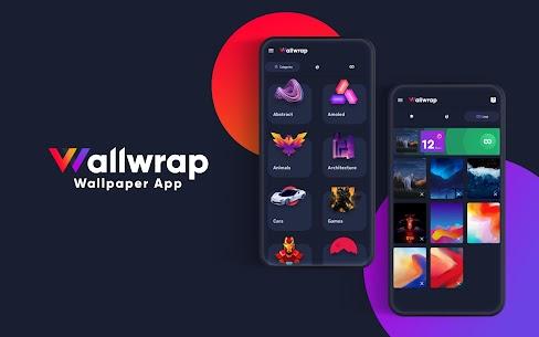 Wallwrap: Loop Backgrounds & 4K QHD FHD Wallpapers 1